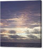 Atlantic Ocean Sunrise 1 Canvas Print