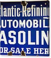 Atlantic Refining Co Sign Canvas Print