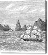 Atlantic: St. Pauls Rocks Canvas Print
