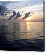 Atlantic Sunset 1 Canvas Print