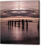 Atomic Sunrise Canvas Print