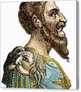 Attila, King Of The Huns Canvas Print