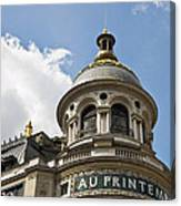 Au Printemps - Paris Canvas Print