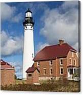 Au Sable Lighthouse 3 Canvas Print