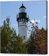 Au Sable Lighthouse 8 Canvas Print