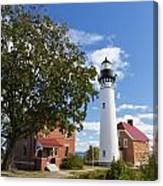 Au Sable Lighthouse 9 Canvas Print