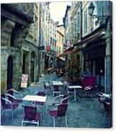 Auch- Rue Dessoles Canvas Print