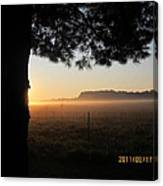 August 12 Sunrise Canvas Print