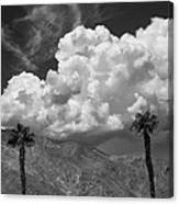 August Clouds Palm Springs Canvas Print