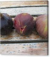 Figs On A Table  Canvas Print