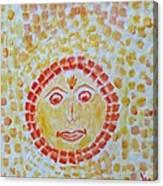 Aum Aadityay Namah Canvas Print