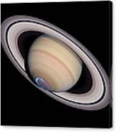 Aurora On Saturn Canvas Print