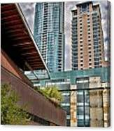 Austin Condo Towers - Hdr Canvas Print