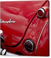 Austin-healey Tail Light And Emblem Canvas Print
