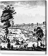 Australia: Gold Rush, 1851 Canvas Print