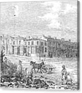 Australia: Melbourne, 1853 Canvas Print