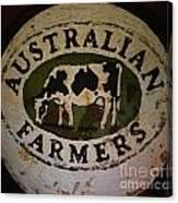 Australian Farmers Canvas Print