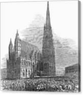 Austria: 1848 Revolution Canvas Print