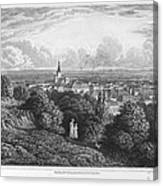 Austria: Baaden, 1822 Canvas Print