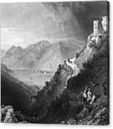 Austria: Hinterhaus Canvas Print