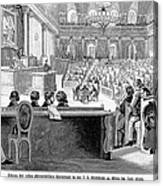 Austrian Assembly, 1848 Canvas Print