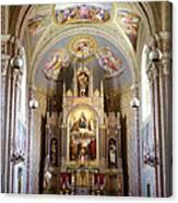 Austrian Church Interior Canvas Print