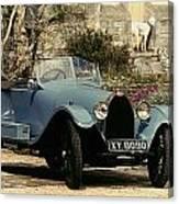 Auto: Bugatti Type, 1925 Canvas Print