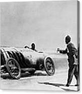 Auto Racing, 1910 Canvas Print