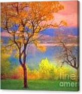 Autum Morning Canvas Print
