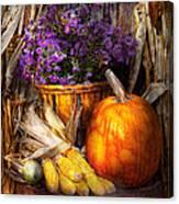 Autumn - Autumn Is Festive  Canvas Print