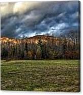 Autumn -- Foothills - Maine Canvas Print