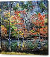 Autumn At Beaver's Bend Canvas Print