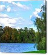 Autumn At Hoyt Lake Canvas Print