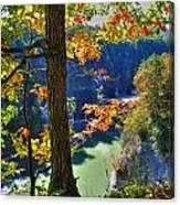 Autumn At Letchworth State Park Canvas Print