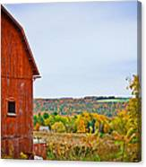 Autumn At The Farm Canvas Print