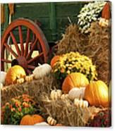 Autumn Bounty Vertical Canvas Print