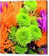 Autumn Bouquet Canvas Print