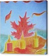 Autumn Breeze Canvas Print