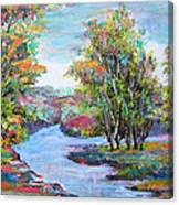 Autumn Brilliant Color Canvas Print