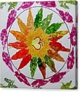 Autumn Chakra Canvas Print