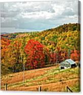 Autumn Farm 2 Canvas Print