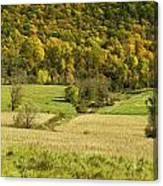 Autumn Farm Vista Canvas Print