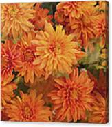 Autumn Garden Impressions Canvas Print
