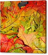 Autumn Gathering Canvas Print