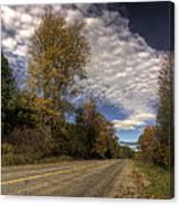 Autumn Highway Canvas Print