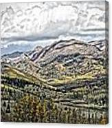 Autumn Hills Canvas Print
