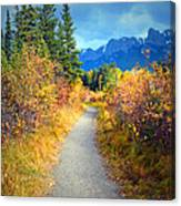 Autumn In Canada Canvas Print