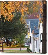 Autumn In Nebraska City No.4 Canvas Print