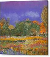 Autumn In Nisqually Canvas Print