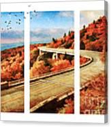 Autumn In North Carolina Canvas Print